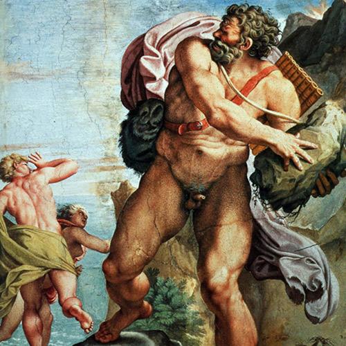 Raffigurazione di Polifemo, Acitrezza