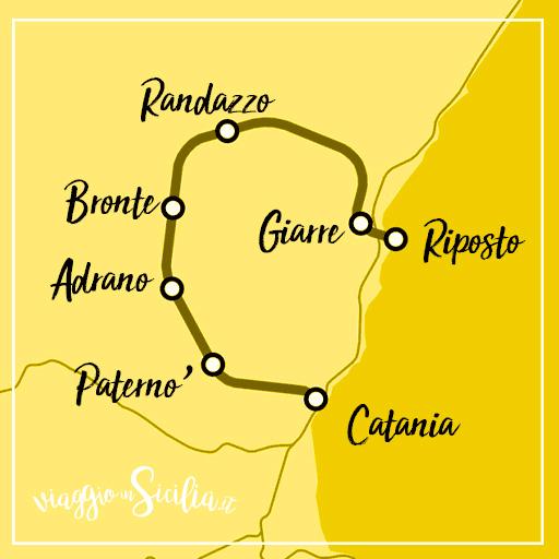 Elenco delle fermate della ferrovia Circumetnea
