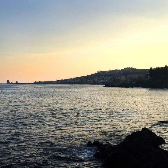 Sunset a Capo Mulini