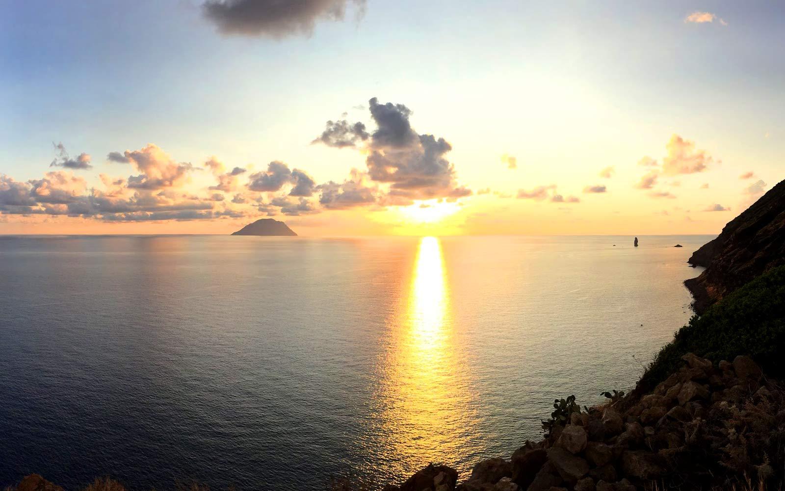 Filicudi, tramonto