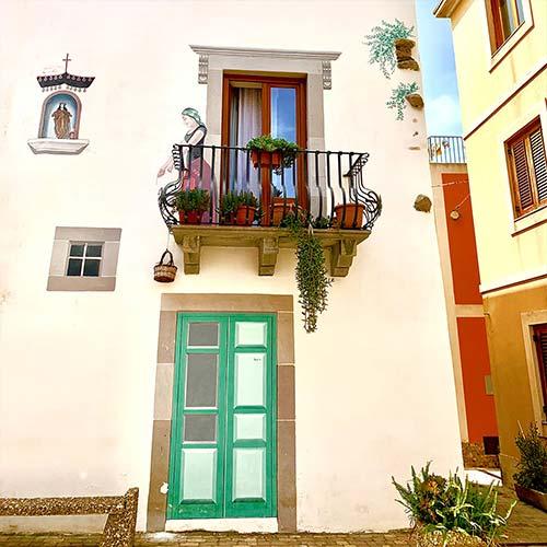 Lipari, Murales