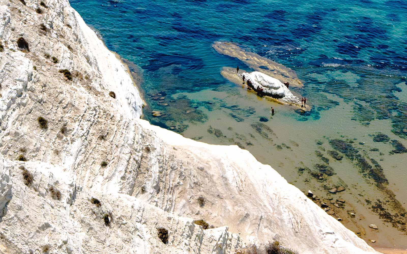 Scala dei Turchi, La tipica marna bianca