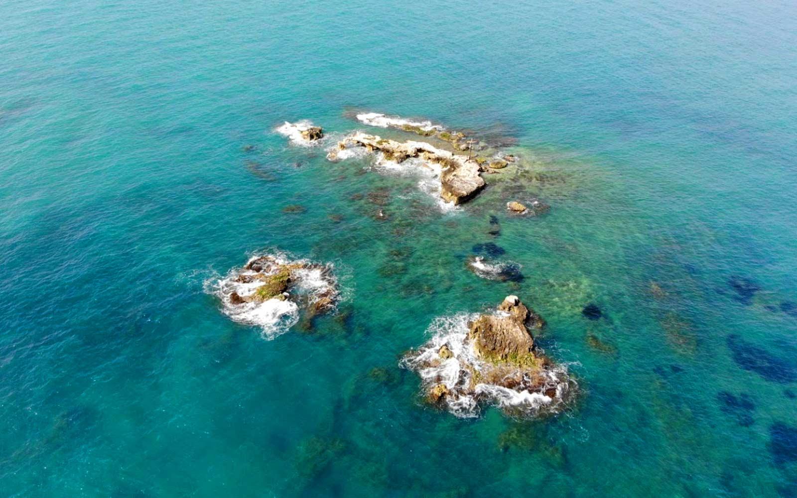 Isola dei Porri, sul litorale di ispica
