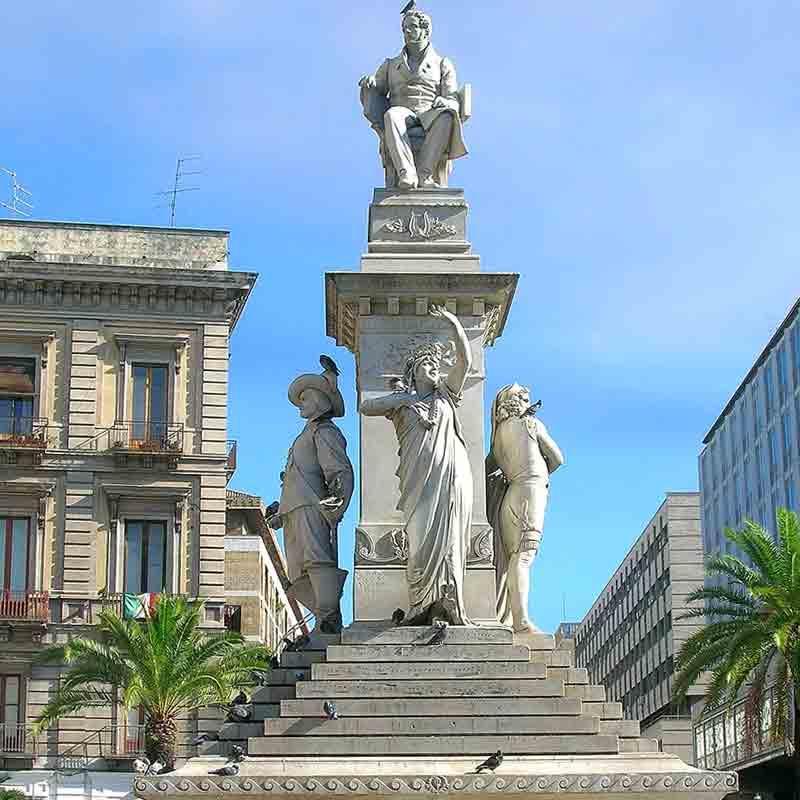 Monumento a Vincenzo Blellini in piazza Stesicoro
