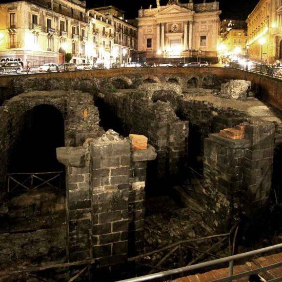 Anfiteatro di Piazza Stesicoro a Catania