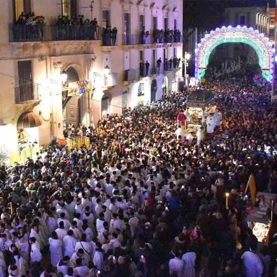 Festa di Sant'Agata in via Etnea a Catania