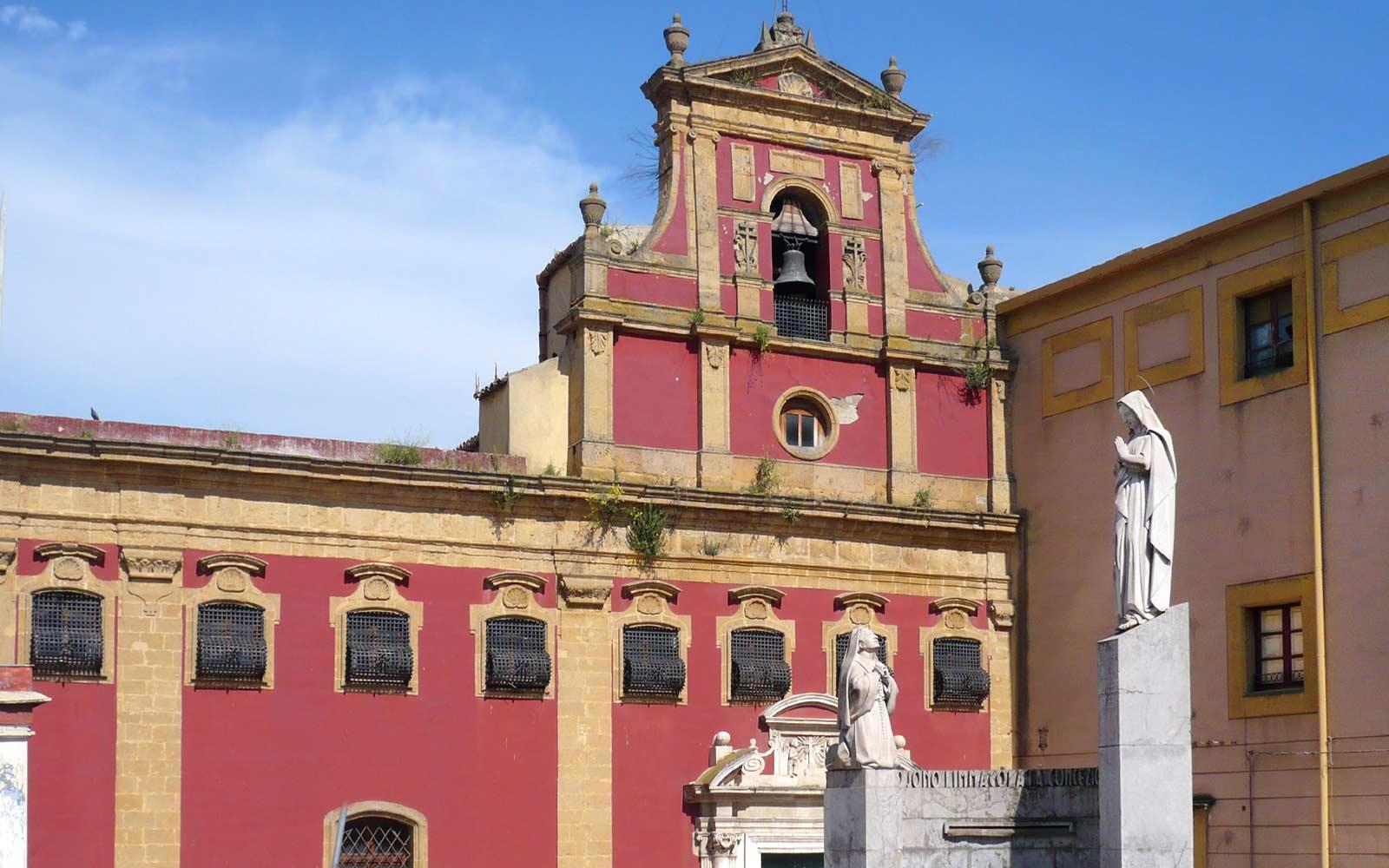 Caltanissetta, Chiesa Santa Croce della Badia