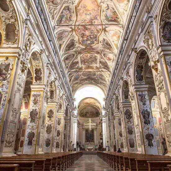Navata Cattedrale di Caltanissetta