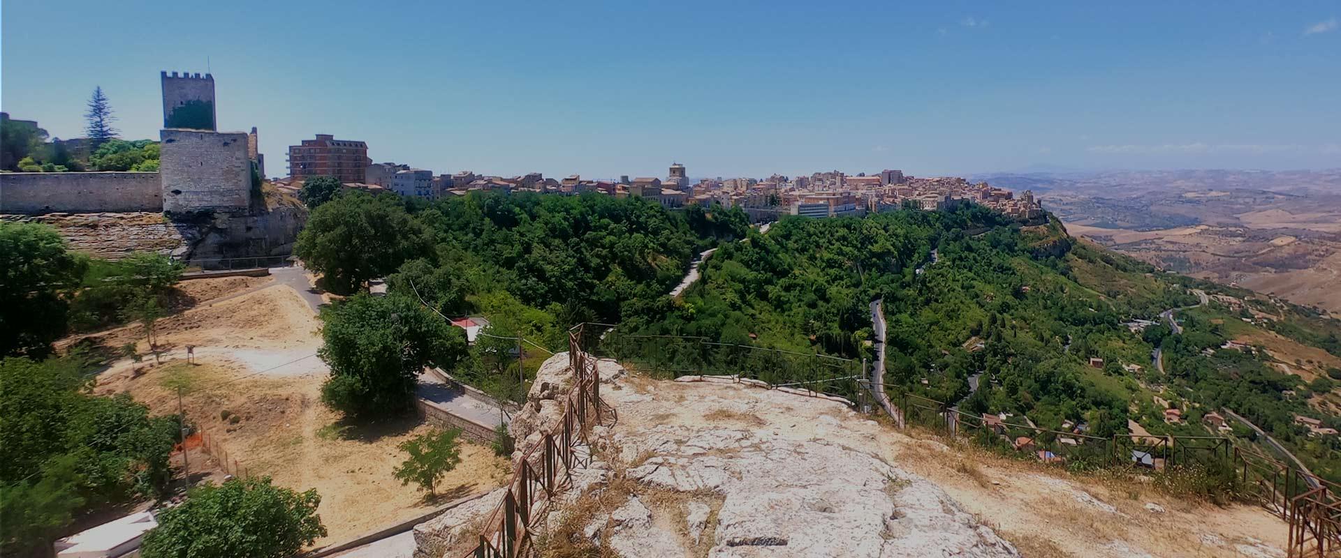 Panoramica Enna