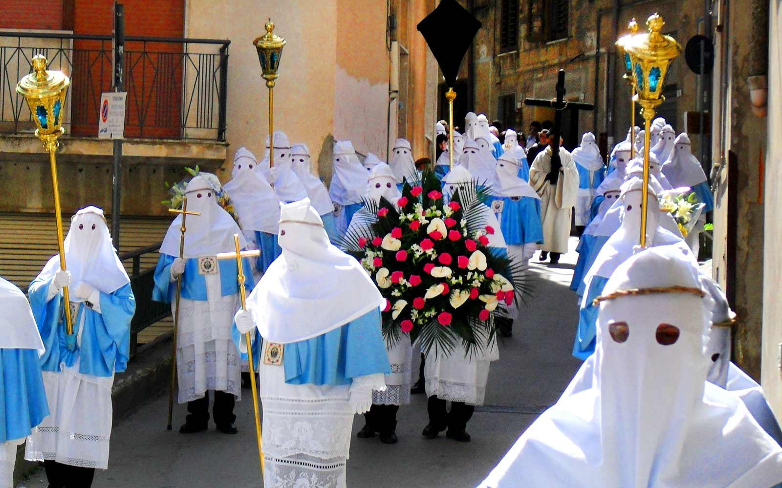 Enna, processione Settimana Santa