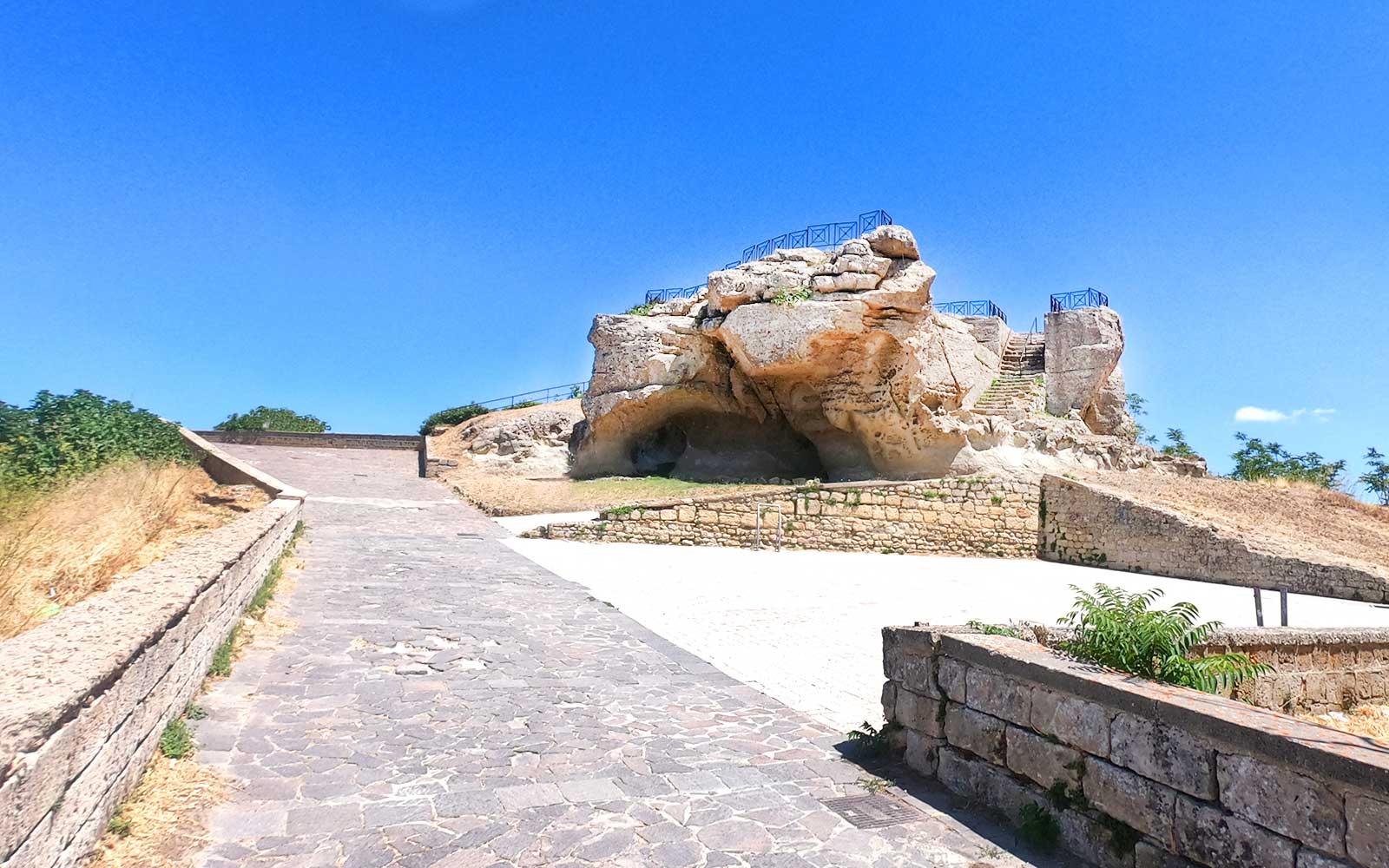 Enna, la Rocca di Cenere