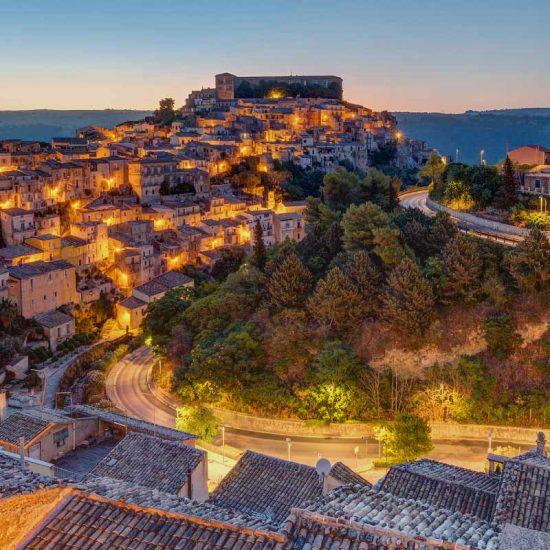 Panoramica su Ragusa Ibla