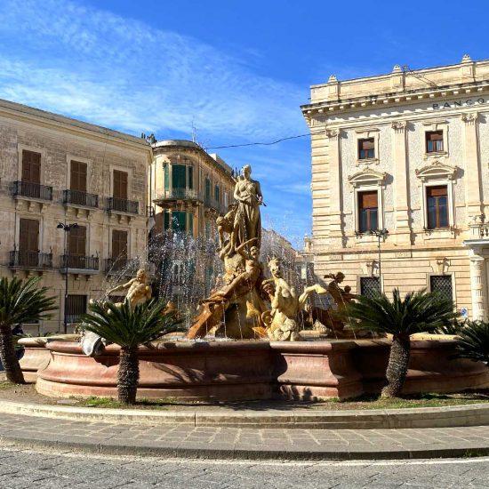 Fontana di Diana, Siracusa