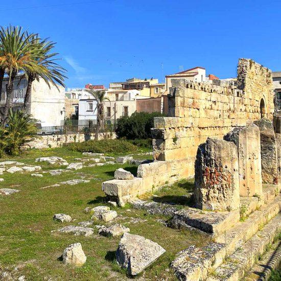 Antiche rovine a Siracusa