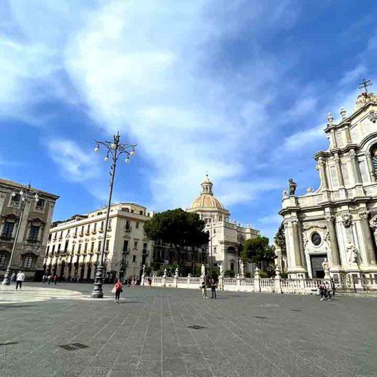 Piazza del duomo Catania