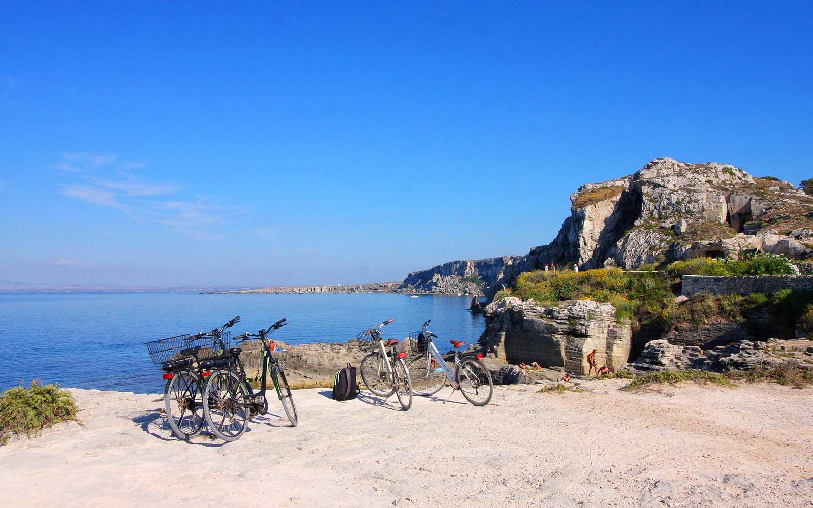 Favignana in bicicletta