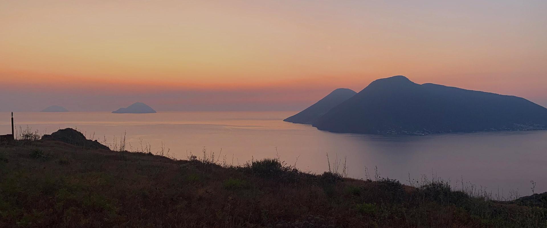 Isole Eolie sunset