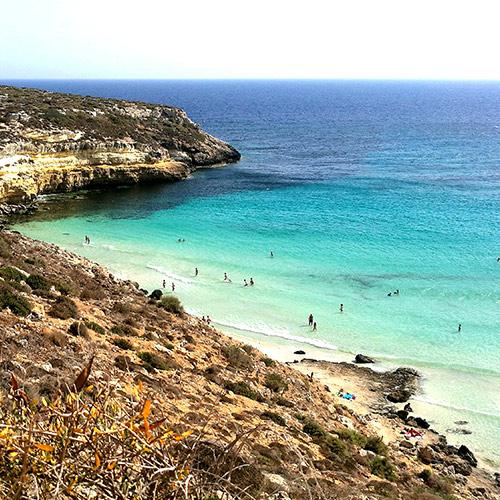Isole Pelagie, Lampedusa, Viaggio in Sicilia