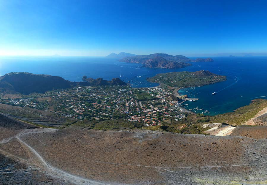 Vulcano viaggio in sicilia